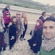 مجموعة من طلبة هندسة تكنولوجيا البيئة يشاركون في رحلة علمية إلى محطة معالجة المياه في نابلس