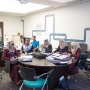 كلية الهندسة تشارك في المُلتقى الطلابي الإبداعي السابع عشر