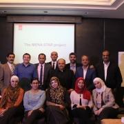 كلية الهندسة تشارك في دورة تدريبية في القاهرة