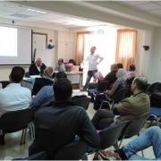 """مشاركة جامعة بوليتكنك فلسطين في ورشة عمل حول """"أبحاث وواقع وتطوير المياه في فلسطين"""""""