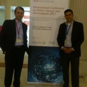 حضور  مميز لجامعة بوليتكنك فلسطين  في المؤتمر الدولي الخامس للمياه والطاقة والبيئة في الشارقة