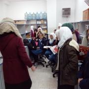 استقبلت كلية الهندسة وبالتعاون مع العلاقات العامة وفداً من مدرسة الزعتري بالشراكة مع مؤسسة تحفيز