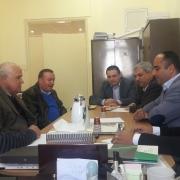 زيارة وفد من جمعية الخرسانة الفلسطينية لكلية الهندسة