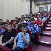 محاضرة تعريفية عن برنامج التبادل الطلابي بين جامعة بوليتكنك فلسطين وجامعة سابينزا الإيطالية