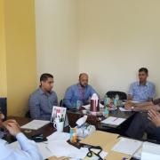 اجتماع مع القطاع الخاص لتطوير برنامج هندسة الاتصالات