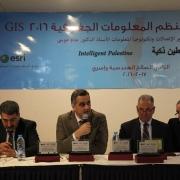 مشاركة كلية الهندسة في مؤتمر فلسطين لنظم المعلومات الجغرافية