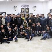 وفد من مدرسي وطلبة دائرة الهندسة الميكانيكية يقومون بزيارة علمية إلى مصانع محافظة نابلس