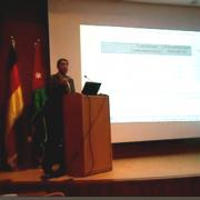 مشاركة المهندس مكاوي حريز بورقة علمية في مؤتمر علمي