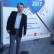 Palestine Polytechnic University (PPU) - الدكتور رائد عمرو يشارك بورقة علمية في المؤتمر الدولي للهندسة الكهربائية  والحاسوب ICECTE 2017