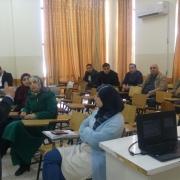 Palestine Polytechnic University (PPU) - دائرة الهندسة المدنية والمعمارية تعقد لقاءً عمل حول آلية تقييم المساقات حسب نظام ABET