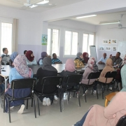 Palestine Polytechnic University (PPU) -  زيارة طلبة هندسة تكنولوجيا البيئة إلى  محطة الصرف الصحي في أريحا  وبلدية العوجا في الأغوار